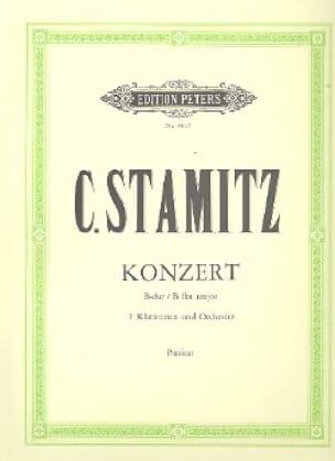 Concerto B-Dur für 2 Klarinetten - Partitur - laflutedepan.com