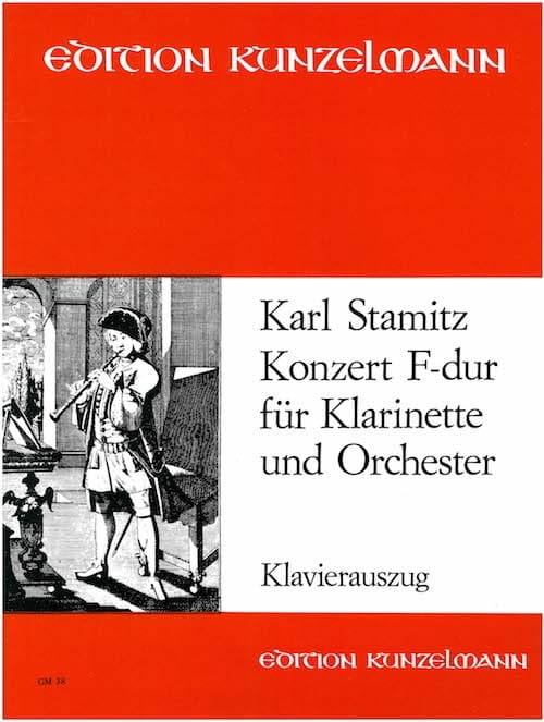 Carl Stamitz - Konzert F-Dur - Klarinette Klavier - Partition - di-arezzo.co.uk