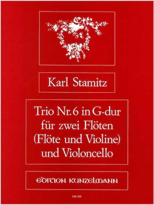 Trio Nr. 6 G-Dur-2 Flöten Violoncello - laflutedepan.com