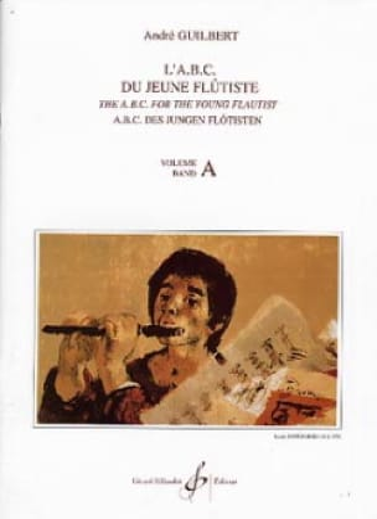 L' Abc du jeune flûtiste - Volume A - laflutedepan.com