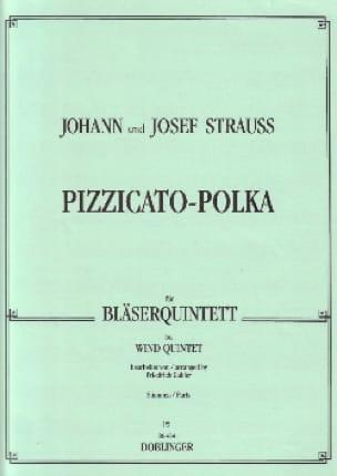 Pizzicato-Polka - Bläserquintett - Stimmen - laflutedepan.com