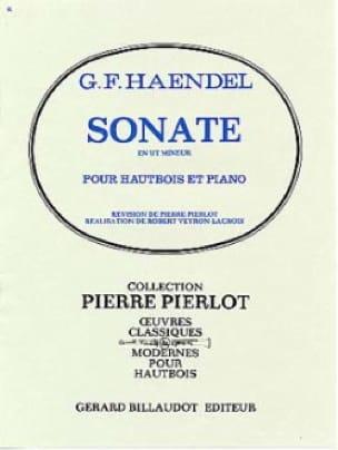 Sonate en Ut Mineur pour Hautbois - HAENDEL - laflutedepan.com