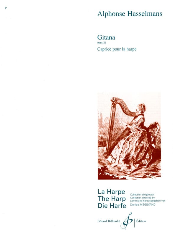 Alphonse Hasselmans - Gitana op. 21 - Partition - di-arezzo.co.uk
