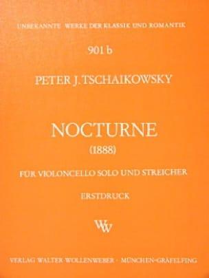 Nocturne -Partitur + Stimmen - TCHAIKOVSKY - laflutedepan.com