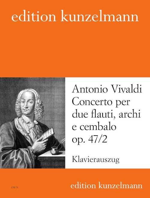 VIVALDI - Concierto op. 47 n ° 2 - 2 piano flauti. - Partition - di-arezzo.es