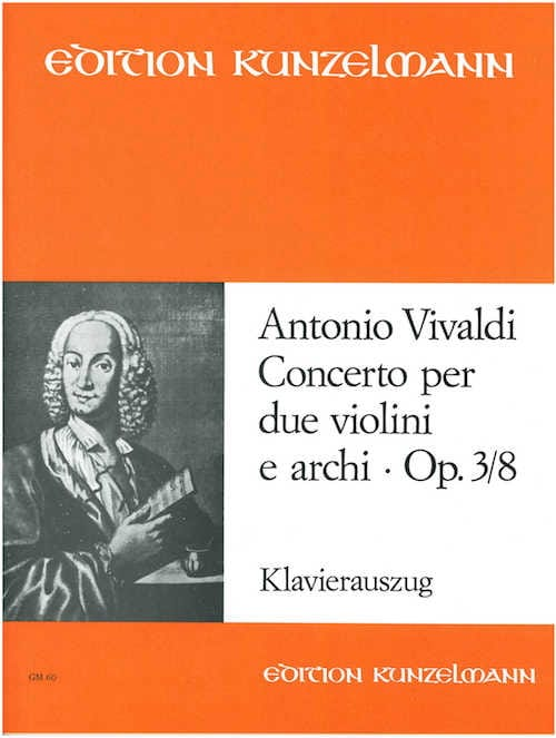 VIVALDI - Concerto op. 3 n ° 8 - 2 Violinen Klavier - Partition - di-arezzo.co.uk
