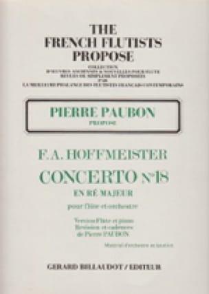 Concerto n° 18 en ré majeur - laflutedepan.com