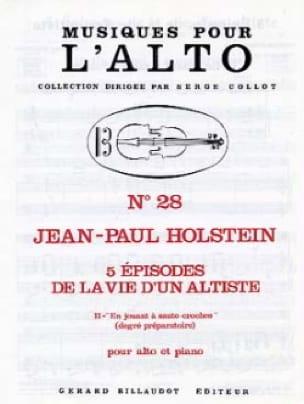En Jouant A Saute-Croches N°2 - Jean-Paul Holstein - laflutedepan.com