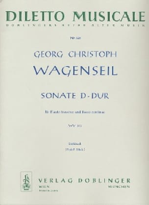 Sonate D-Dur WV 513- Flöte und Bc - laflutedepan.com