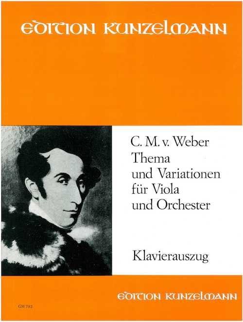 Carl Maria von Weber - Thema und Variationen - Partition - di-arezzo.com