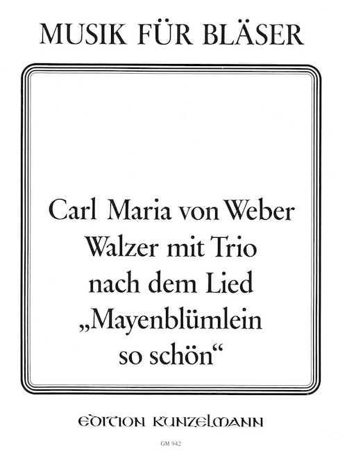 Carl Maria Von Weber - Walzer Mit Trio - Octet Winds - Partition - di-arezzo.co.uk