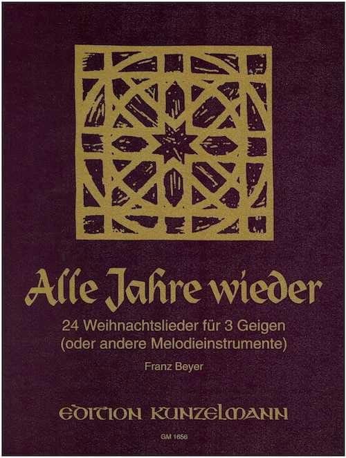Alle Jahre Wieder - Franz Beyer - Partition - laflutedepan.com