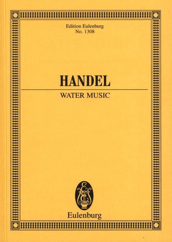 HAENDEL - Wassermusik - Water Music - Partition - di-arezzo.co.uk