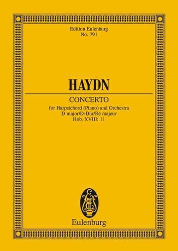 Concerto D Dur Hob. XVIII/11 - HAYDN - Partition - laflutedepan.com