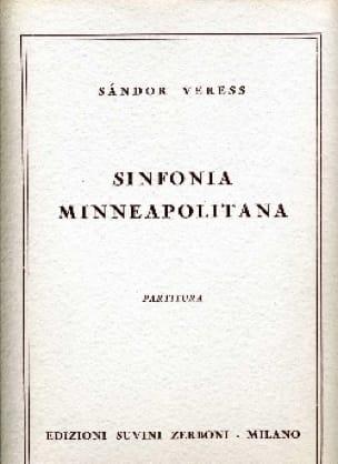 Sinfonia Minneapolitana - Sandor Veress - Partition - laflutedepan.com