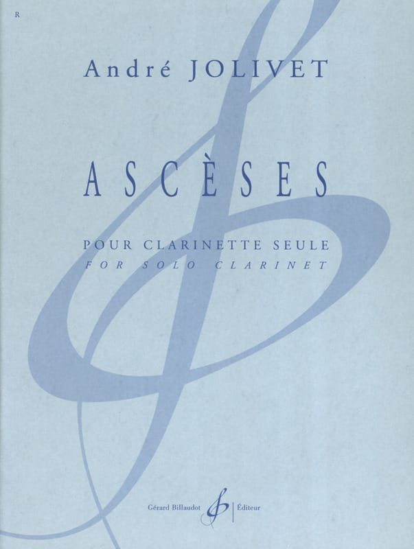 André Jolivet - asceticism - Partition - di-arezzo.co.uk
