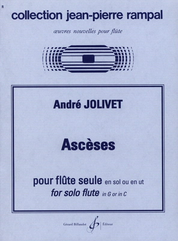 Ascèses - André Jolivet - Partition - laflutedepan.com