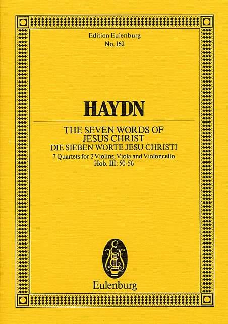 HAYDN - Streich-Quartet op. 51 Hob. III: 50-56 - Partition - di-arezzo.co.uk