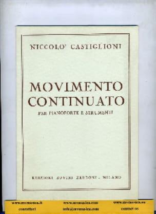 Movimento Continuato - Niccolo Castiglioni - laflutedepan.com