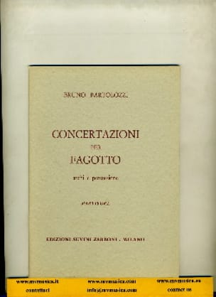 Concertazioni per fagotto - Partitura - laflutedepan.com