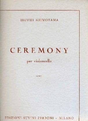 Ceremony - Hifumi Shimoyama - Partition - laflutedepan.com