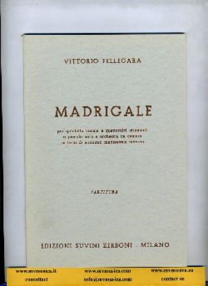 Madrigale - Vittorio Fellegara - Partition - laflutedepan.com