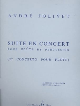 André Jolivet - Suite In Concert - Complete Material - Partition - di-arezzo.com