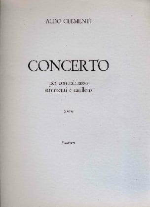 Concerto per contrabbasso -partitura - laflutedepan.com