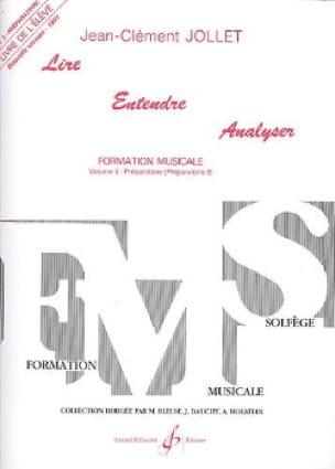 Lire Entendre Analyser - Volume 3 - Elève Préparatoire - laflutedepan.com