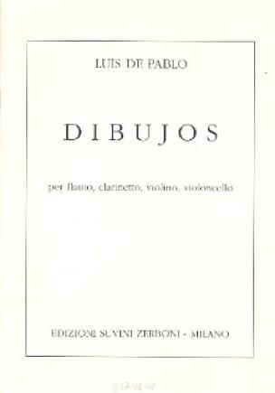 Dibujos -Partitura - Luis de Pablo - Partition - laflutedepan.com