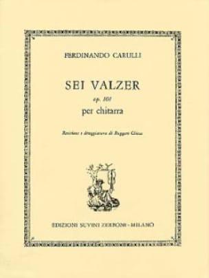 6 Walzer op. 101 -Chitarra - Ferdinando Carulli - laflutedepan.com