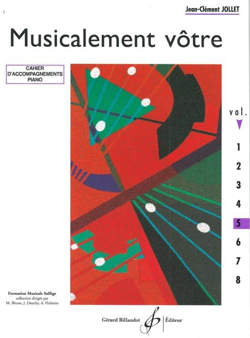 Musicalement Vôtre Volume 5 - Prof - laflutedepan.com