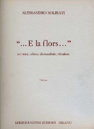 ... E la Flors ... -partitura - laflutedepan.com
