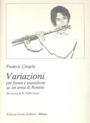 CHOPIN - Variazioni on a tema di Rossini - Partition - di-arezzo.co.uk