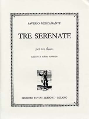 3 Serenate - Saverio Mercadante - Partition - laflutedepan.com