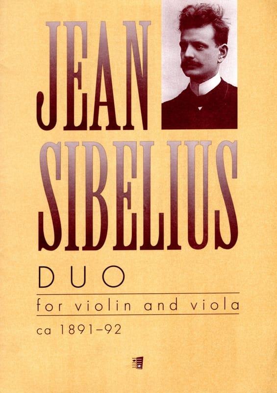 Jean Sibelius - Duo - Violin and viola - Partition - di-arezzo.co.uk