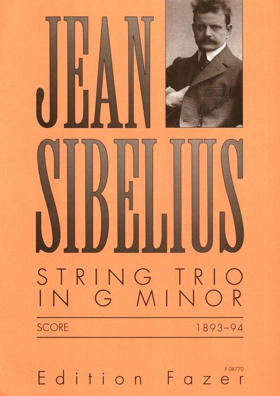 Jean Sibelius - Thong Trio G minor - Score - Partition - di-arezzo.co.uk