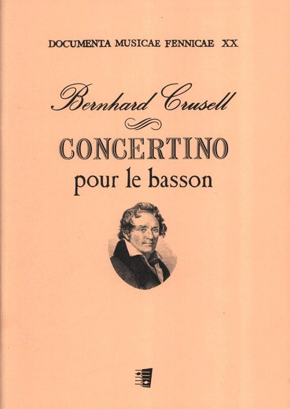Concertino pour le basson - Bernhard Henrik Crusell - laflutedepan.com