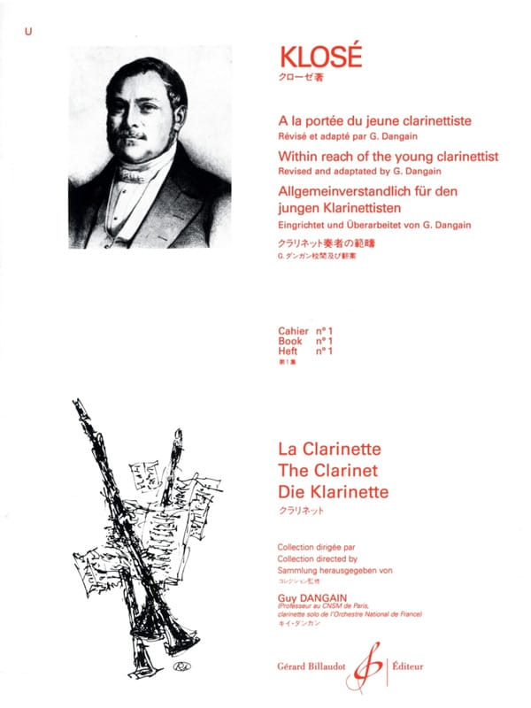 Hyacinthe Klosé - At the Reach of the young Clarinetist Vol. 1 - Partition - di-arezzo.co.uk