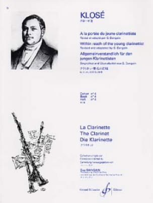 Hyacinthe Klosé - At the Reach of the young Clarinetist Vol. 4 - Partition - di-arezzo.com