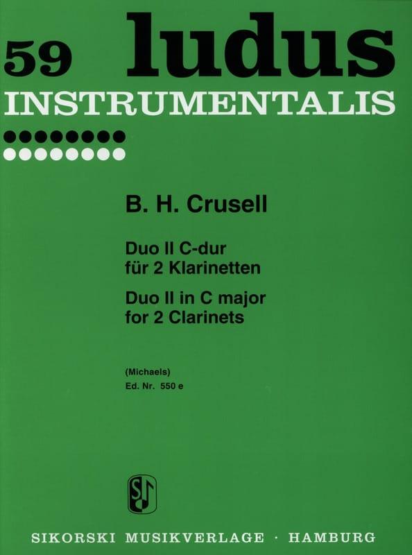 Duo Nr. 2 C-Dur - 2 Klarinetten - laflutedepan.com