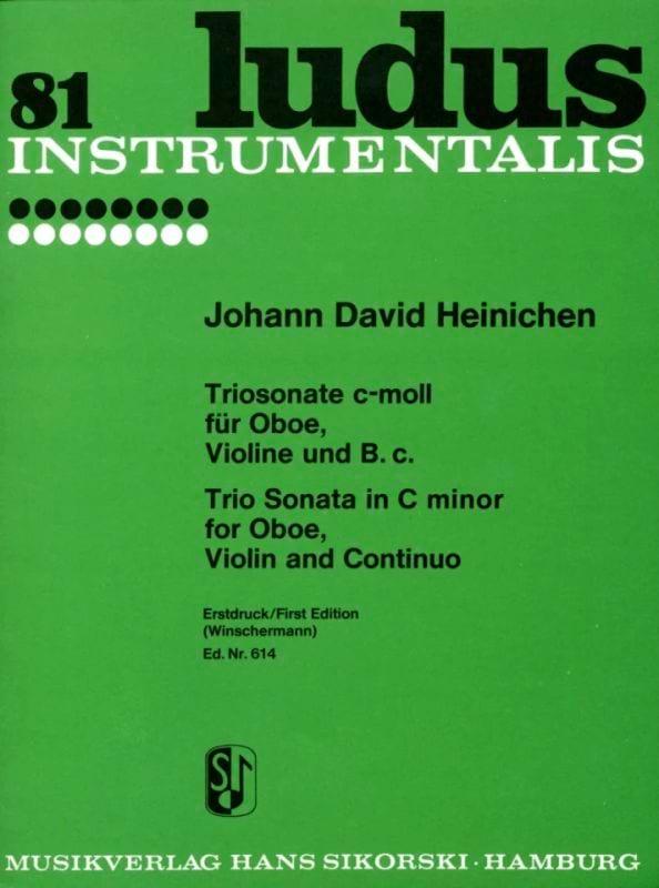 Triosonate c-moll - Oboe Fl/Vl Violine u. Bc - laflutedepan.com