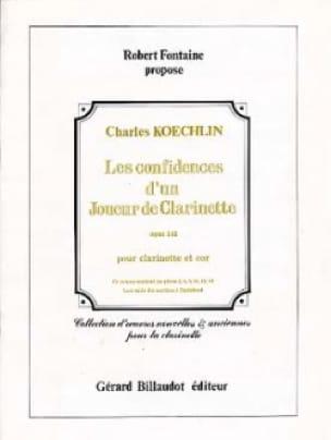 Les confidences d'un joueur de clarinette - Clarinette cor - laflutedepan.com