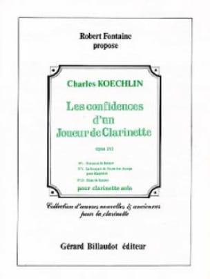 Les confidences d'un joueur de clarinette op. 141 n° 1, 3, 15 - laflutedepan.com