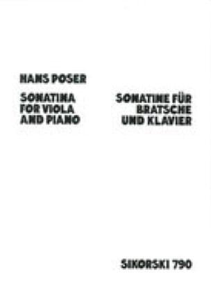 Sonatine op. 54 n° 3 - Hans Poser - Partition - laflutedepan.com