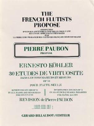 30 Etudes de virtuosité op. 75 - Volume 3 - laflutedepan.com