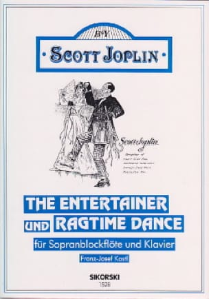 The Entertainer und Ragtime Dance - Sopranblockflöte u. Klavier - laflutedepan.com