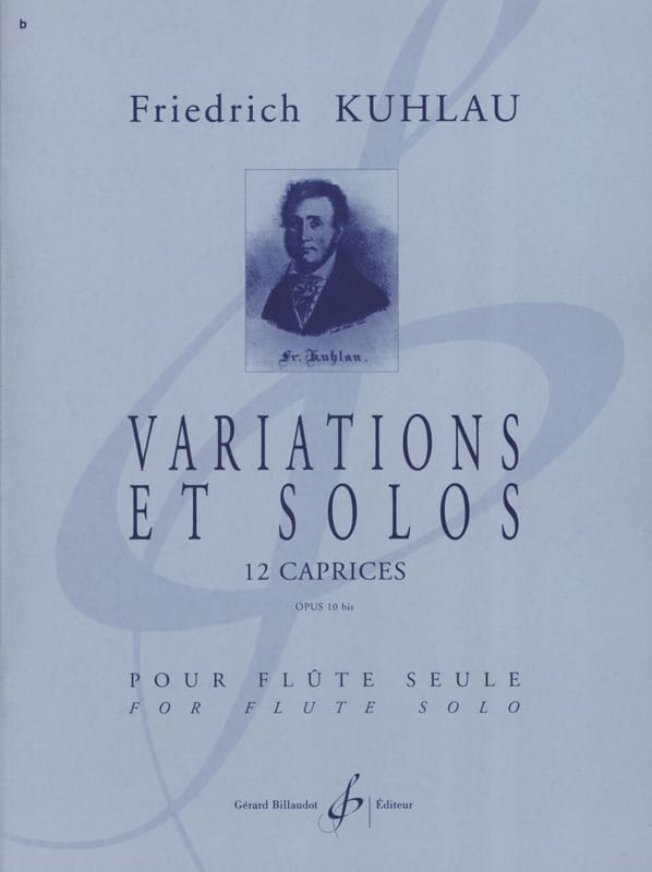 Friedrich Kuhlau - Variations and Solos Opus 10bis - Partition - di-arezzo.com