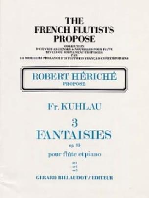 3 Fantaisies op. 95 - n° 2 - Friedrich Kuhlau - laflutedepan.com