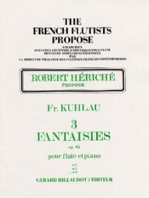 3 Fantaisies op. 95 - n° 3 - Friedrich Kuhlau - laflutedepan.com